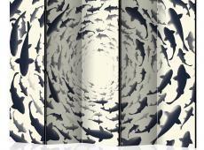 Paraván - Fish Swirl II [Room Dividers]